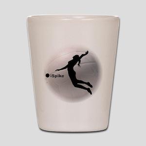 ispike Volleyball Shot Glass