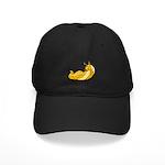 Banana Slug Babe Black Cap