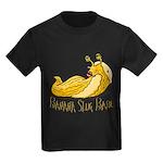 Banana Slug Babe Kids Dark T-Shirt