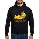 Banana Slug Babe Hoodie (dark)
