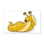 Banana Slug Babe 22x14 Wall Peel