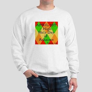 Psalm 14:1 (B) Sweatshirt