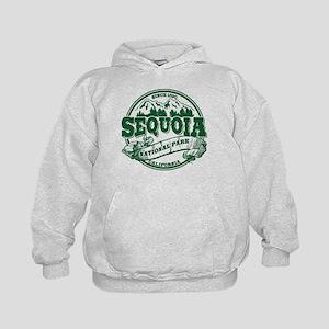 Sequoia Old Circle Green Kids Hoodie