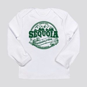 Sequoia Old Circle Green Long Sleeve Infant T-Shir
