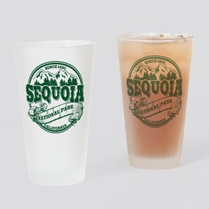 Sequoia Old Circle Green Drinking Glass