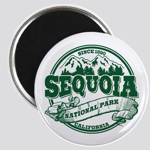 Sequoia Old Circle Green Magnet