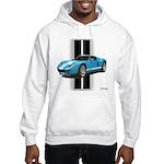 New Racing Car Hooded Sweatshirt