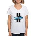 New Racing Car Women's V-Neck T-Shirt