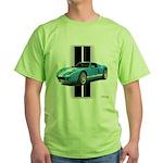 New Racing Car Green T-Shirt