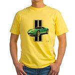New Racing Car Yellow T-Shirt