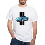 New Racing Car White T-Shirt