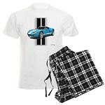 New Racing Car Men's Light Pajamas