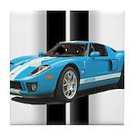 New Racing Car Tile Coaster