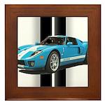 New Racing Car Framed Tile