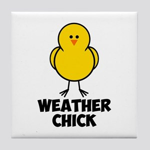 Weather Chick Tile Coaster