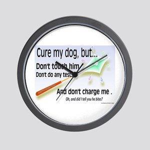 Cure My Dog Wall Clock