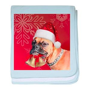 b2848b3da8b Christmas Magnets Baby Blankets - CafePress
