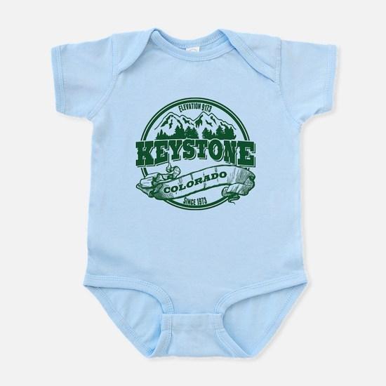Keystone Old Circle 3 Green Infant Bodysuit
