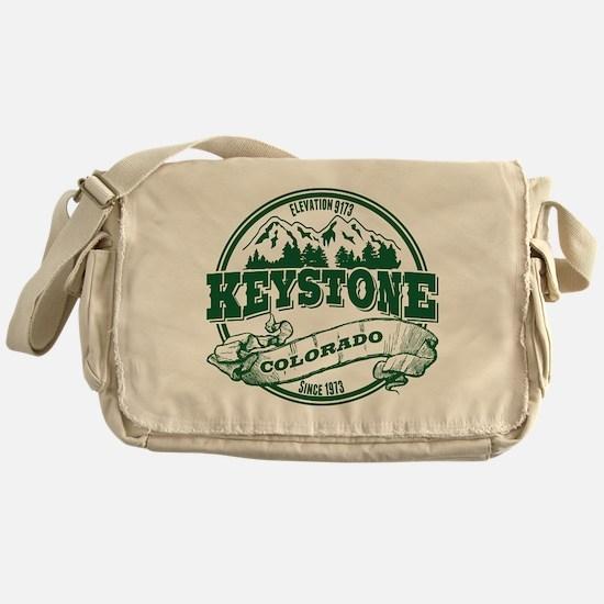 Keystone Old Circle 3 Green Messenger Bag