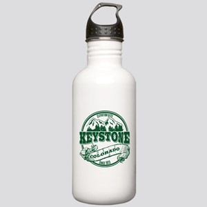 Keystone Old Circle 3 Green Stainless Water Bottle