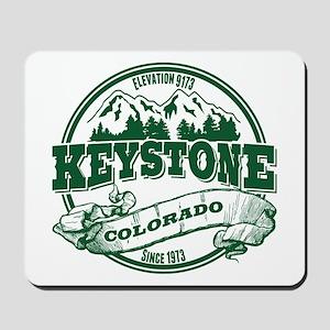 Keystone Old Circle 3 Green Mousepad