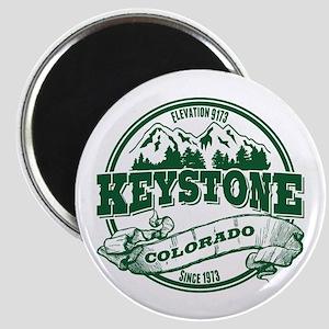 Keystone Old Circle 3 Green Magnet