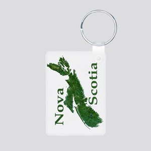 Nova Scotia Aluminum Photo Keychain