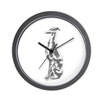 Whippet Wall Clock