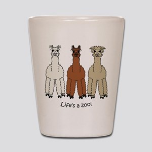 Alpaca Shot Glass