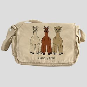Alpaca Messenger Bag