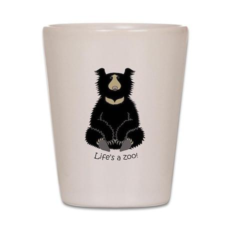 Sloth Bear Shot Glass