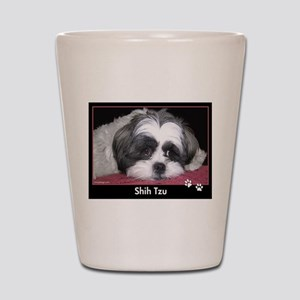 Shih Tzu Calendar Shot Glass