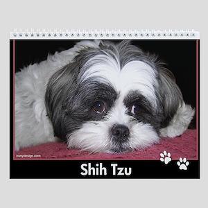 Shih Tzu Calendar Wall Calendar