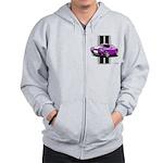 New Dodge Challenger Zip Hoodie