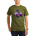 New Dodge Challenger Organic Men's T-Shirt (dark)