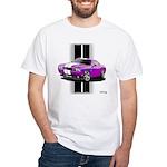 New Dodge Challenger White T-Shirt