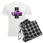 New Dodge Challenger Men's Light Pajamas