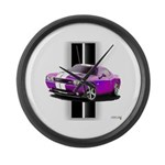 New Dodge Challenger Large Wall Clock