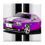 New Dodge Challenger Tile Coaster