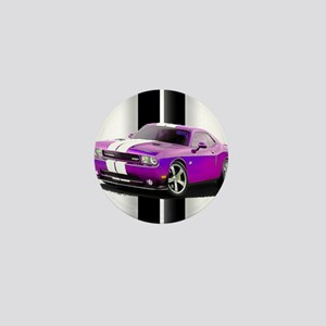 New Dodge Challenger Mini Button
