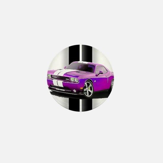 New Dodge Challenger Mini Button