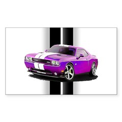New Dodge Challenger Sticker (Rectangle 10 pk)