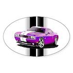 New Dodge Challenger Sticker (Oval 10 pk)