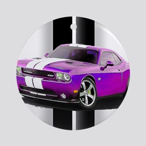New Dodge Challenger Ornament (Round)