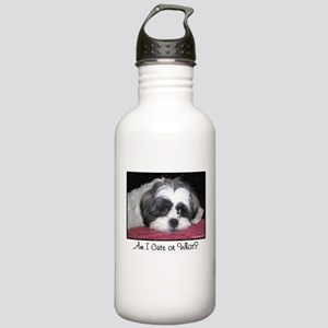 Cute Shih Tzu Dog Stainless Water Bottle 1.0L