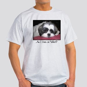 Cute Shih Tzu Dog Light T-Shirt
