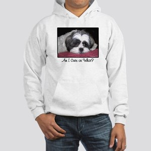 Cute Shih Tzu Dog Hooded Sweatshirt