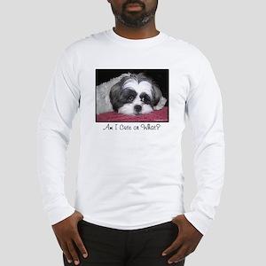 Cute Shih Tzu Dog Long Sleeve T-Shirt