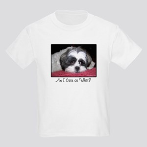 Cute Shih Tzu Dog Kids Light T-Shirt