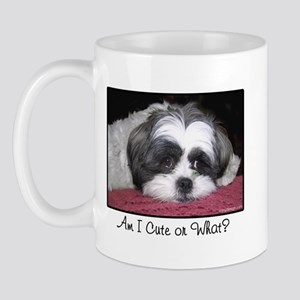 Cute Shih Tzu Dog Mug